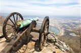 Cannon Perched On Lookout Mountain, Tennessee Art Print