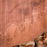 Fremont Pictoglyph Panel, Utah Art Print