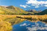 Wasatch Cache National Forest Panorama, Utah Art Print