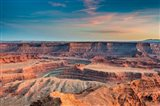 Sunset At Deadhorse Point State Park Art Print