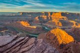 Sunrise At Dead Horse Point State Park Art Print