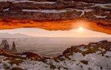 Sunrise At Mesa Arch, Canyonlands National Park, Utah Art Print