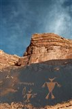 Duck Headed Man Petroglyph, Cedar Mesa, Utah Art Print