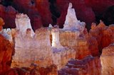 Hoodoos At Sunrise Point, Bryce Canyon National Park, Utah Art Print