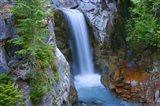 Christine Falls, Mount Rainier National Park, Washington State Art Print