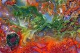 Colorful Agate Art Print