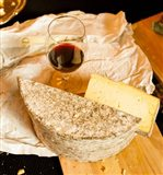 Wine And Artisanal Cheese Event At A Tasting Room Art Print