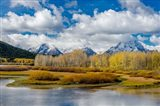 Grand Teton National Park Panorama, Wyoming Art Print