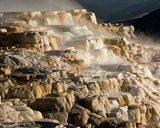 Mammoth Hot Springs, Yellowstone National Park, Wyoming Art Print