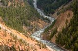 Inspiration Point, Yellowstone River, Grand Canyon Of The Yellowstone Art Print