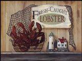 Fresh Caught Lobster Art Print