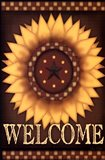 Sunflower Welcome Art Print