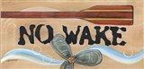 No Wake Art Print