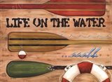 Life on the Water Art Print