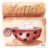 Lattes Art Print