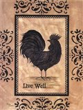 Live Well Art Print
