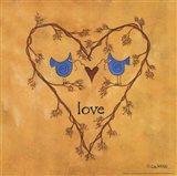 Twiggy Love Art Print