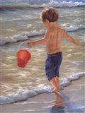 Water Play II Art Print