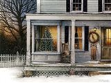 December Glow Art Print