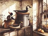 Crocks And Fowl Art Print