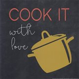 Cook It With Love Art Print