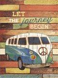 Let the Journey Begin Art Print
