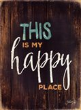This is My Happy Place Art Print
