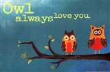 Owl Always Love You (detail) Art Print