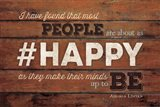 #HAPPY Art Print