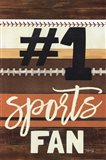 #1 Sports Fan Art Print