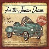 Junior Driver Art Print