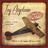 Toy Airplane Art Print