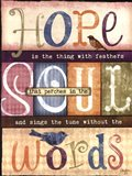 Soul Words Art Print