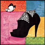 Chic Shoe I Art Print