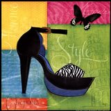 Chic Shoe II Art Print