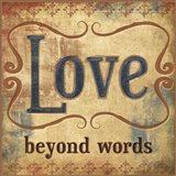 Love Beyond Words Art Print