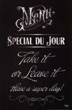 Soup Du Jour Art Print