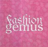 Fashion Genius Art Print