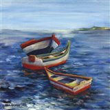 Vibrant Sea I Art Print