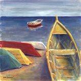 Vibrant Sea II Art Print