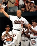 Cal Ripken, Jr. - 2632nd game (hat tip) Art Print