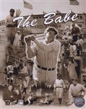 Babe Ruth - Legends Of The Game Composite Art Print