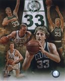 Larry Bird - Legends Of The Game Composite Art Print