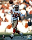 Joe Montana - passing Art Print