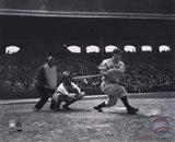 Lou Gehrig - batting Art Print