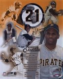 Roberto Clemente - Legends of the Game Composite Art Print