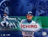 Ichiro Suzuki - Composite (Horizontal) Art Print