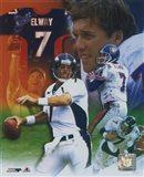 John Elway - Legends of the Game Composite Art Print