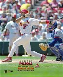 Albert Pujols 2001 National League Rookie of the Year Art Print