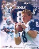 Troy Aikman Legends Composite Art Print